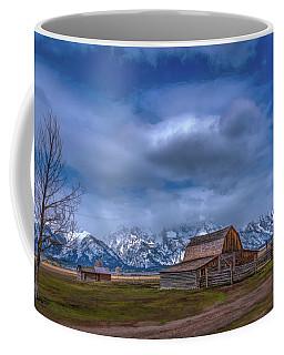 Teton National Park Mormon Row Coffee Mug