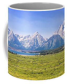 Teton Panorama Coffee Mug