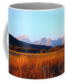 Teton Range Coffee Mug
