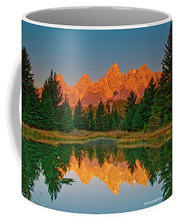 Teton Sunrise Coffee Mug