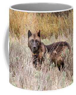 Teton Wolf Coffee Mug by Steve Stuller