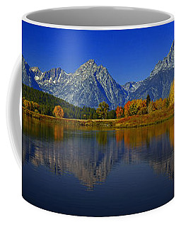 Tetons From Oxbow Bend Coffee Mug