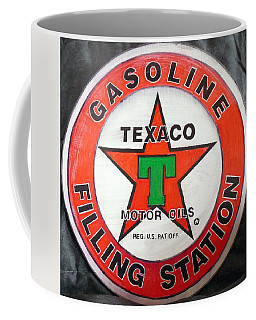 Texaco Sign Coffee Mug