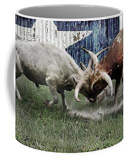Texas Bull Fight  Coffee Mug