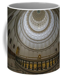 Texas Capitol Dome Wide Angle Coffee Mug