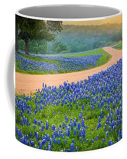 Texas Country Road Coffee Mug