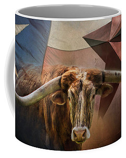 Coffee Mug featuring the photograph Texas by David and Carol Kelly