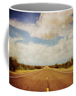 Texas Highway Coffee Mug