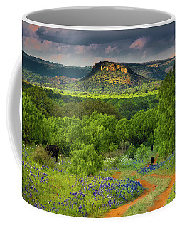Texas Hill Country Ranch Road Coffee Mug