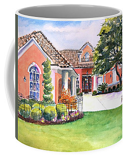 Texas Home Spanish Tuscan Architecture  Coffee Mug