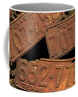 Texas Plates Coffee Mug