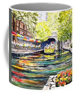 Texas San Antonio River Walk Coffee Mug