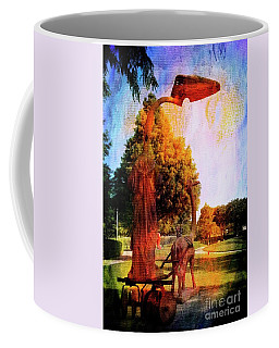 Texas Sculpture Garden 2 Frisco Coffee Mug by Bob Pardue