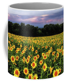 Texas Sunflowers Coffee Mug