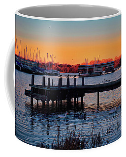 Coffee Mug featuring the photograph Texas Sunset by Diana Mary Sharpton
