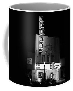Texas Theater Oak Cliff Bw Coffee Mug