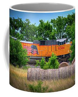 Texas Train Coffee Mug