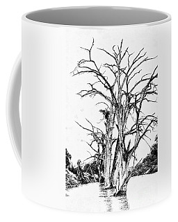 Texas Trees Coffee Mug by Marcia Lee Jones