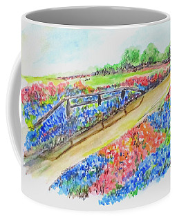 Texas Wild Flowers Coffee Mug