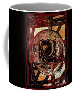 Textured Abstract Coffee Mug