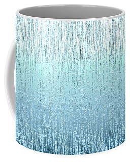 Textured Blue  Coffee Mug by Charlotte Schafer