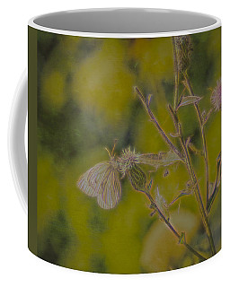 Textured Butterfly 1   Coffee Mug