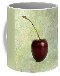 Textured Cherry. Coffee Mug