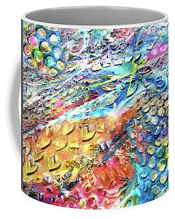 Textured Color Play 2 Coffee Mug