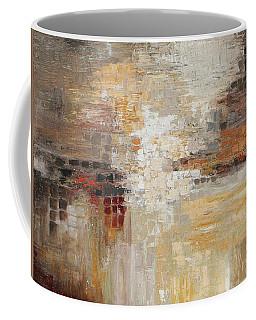 Textured Earth Tone Coffee Mug