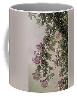 Textured Roses Coffee Mug