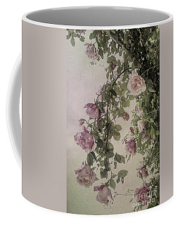 Textured Roses Coffee Mug