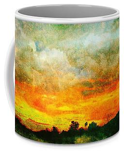 Textured Sunset Coffee Mug