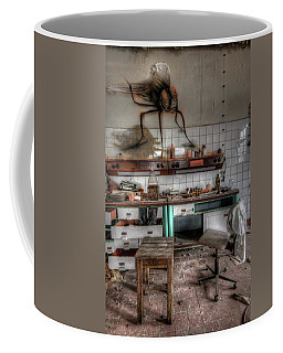 Th Mad Scientist  Coffee Mug by Nathan Wright
