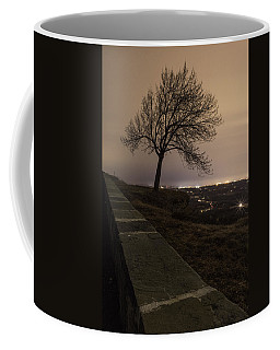 Coffee Mug featuring the photograph Thacher Park Twilight by Brad Wenskoski