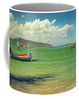 Thai Fishing Boats Coffee Mug