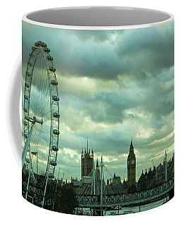 Thames View 1 Coffee Mug by Steven Richman