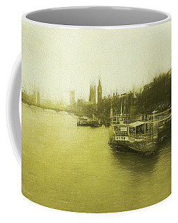 Thames West Coffee Mug by Roger Lighterness