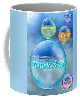 Thank You Bubbles Coffee Mug