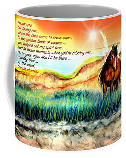 Thank You For Loving Me Coffee Mug