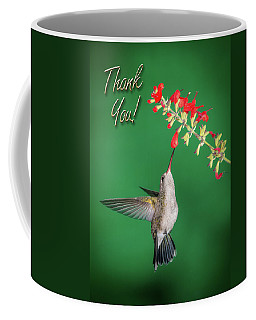 Thank You - Looking Up Coffee Mug