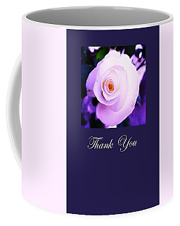 Thank You  Coffee Mug by Mary Ellen Frazee