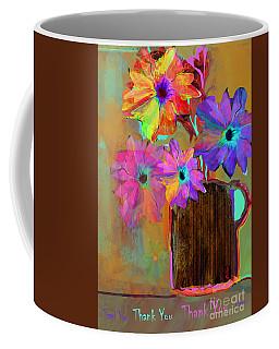 Thank You Flowers Coffee Mug