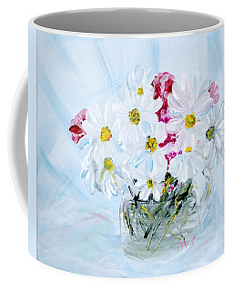 Thank You. Thank You - Je Vous Remerci Collection Of 2 Paintings Coffee Mug
