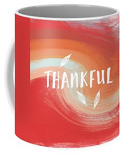 Thankful- Art By Linda Woods Coffee Mug