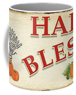 Coffee Mug featuring the painting Thanksgiving-f by Jean Plout