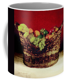 That Basket Of Fruits Painting Coffee Mug
