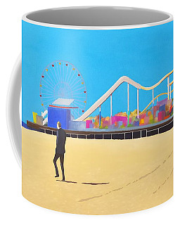 That Man On The Beach Coffee Mug
