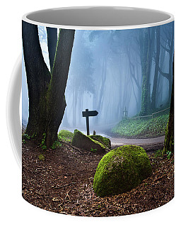 Coffee Mug featuring the photograph That Way by Jorge Maia