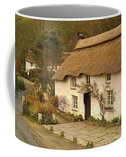 Thatched Cottage By Ford  Coffee Mug