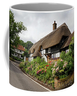 Thatched Cottages In Micheldever Coffee Mug
